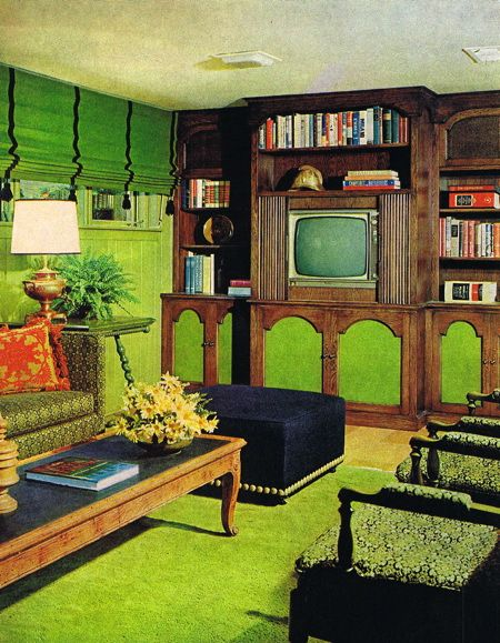 I used to have shag carpet that color.  It didn't go well with anything.
