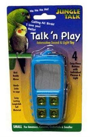 Jungle Talk Pet Products BJN47010 Play Phone Bird Interactive Toys, Large ** You can get more details by clicking on the image.