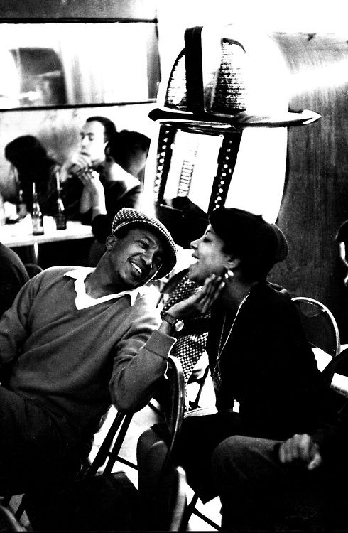 updownsmilefrown: Couple at a cafe, Johannesburg, South Africa, 1961. by Ian Berry