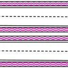 This set of black chevron name plates would add some fun to any classroom and go great with any theme! Each 8 1/2 by 11 page has two nameplates. Th...