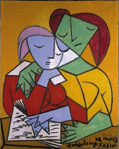 Two Girls Reading, Pablo Picasso, 1934