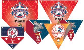 Custom Baseball Banners, Little League Baseball Team Banners Online Free shipping!