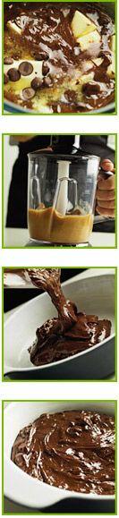 Mørk chokolade brownie | Opskrift fra BRAUN