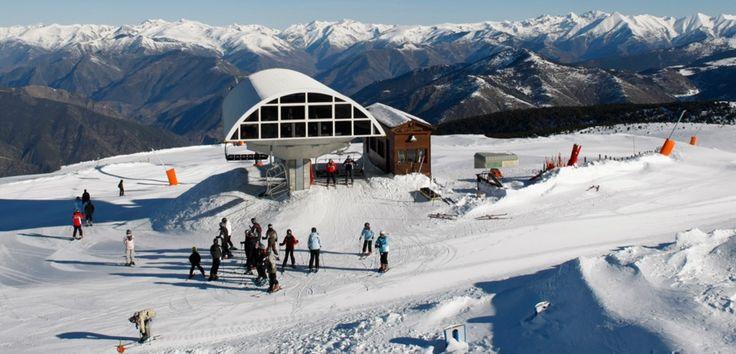 Estación de #esqui en Port Ainé #Sort