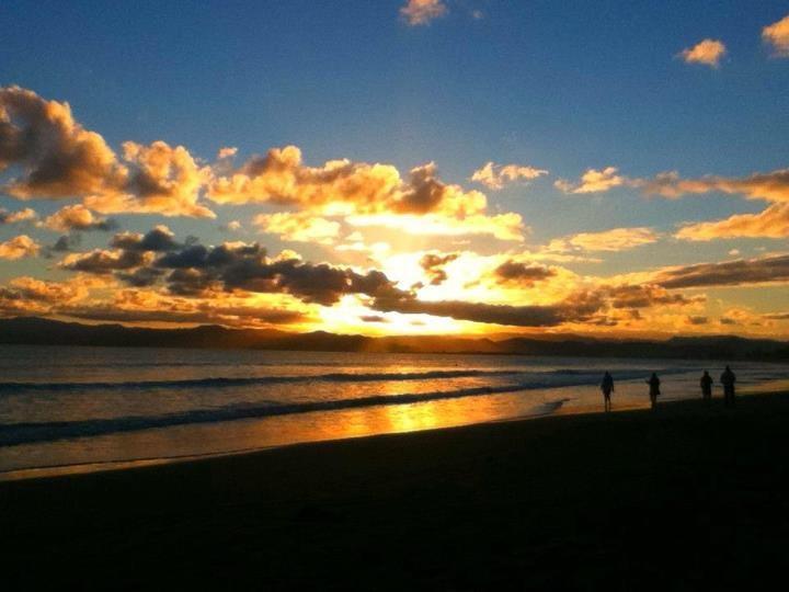 Waikanae Beach Sunset, Gisborne, New Zealand