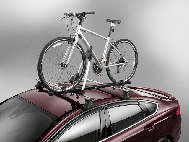 2017 Ford Fusion Bike Rack Via Flickr