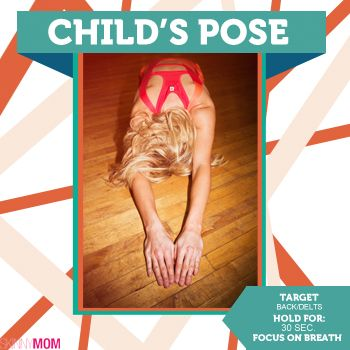 What's up SM followers we have your weekly Tighten up Tuesday! It's Child's Pose this yoga posture gives your thighs a great stretch. Child's Pose also relieves back, shoulder, neck, and hip strain.