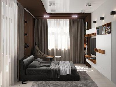 Простота, гармония и лаконичность - три составляющих интерьера этой квартиры. Пожелания заказчика в основном касались цветового решения. Постельные бежево-коричневые оттенки создают ту атмосферу комфорта, которая идеально подходит для семейного быта. http://rivieragroup.kz