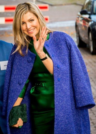 ♥•✿•QueenMaxima•✿•♥...Queen Maxima attended presentation of 2017 report of SMEs