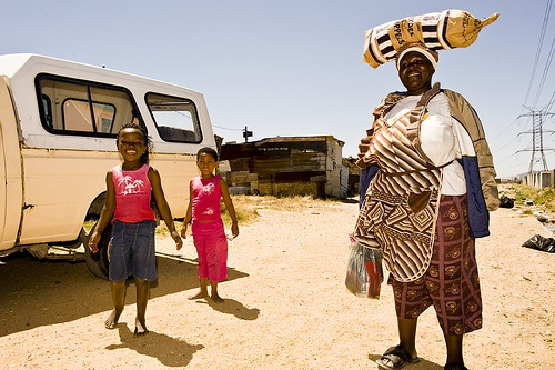 Township Langa,  Cape Town, South Africa