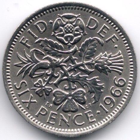 United Kingdom 6 Pence 1966 Veiling in de Decimaal,Brits,Munten,Munten & Banknota's Categorie op eBid België | 144969868