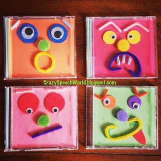 Emotions Craftivity - Pinned by @PediaStaff – Please Visit ht.ly/63sNt for all our pediatric therapy pins