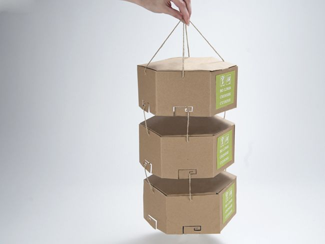 Packaging of the World: Creative Package Design Archive and Gallery: Eco-Friendly Chinese Take-Out