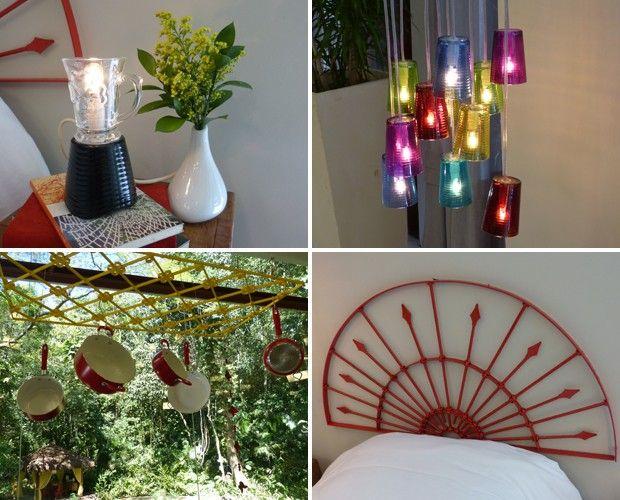 Jairo de Sender dá várias ideias criativas para inovar na decoração da cozinha (Foto: Mais Você/TV Globo)