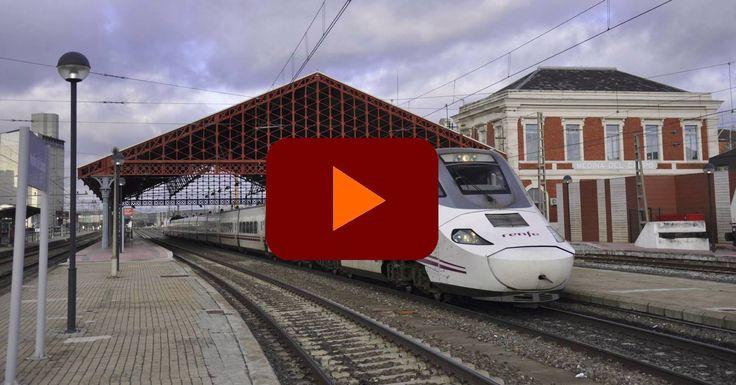 Vídeo con los últimos servicios Alvia y últimos trenes de largo recorrido de Renfe que usaron la estación clásica de Medina del Campo.
