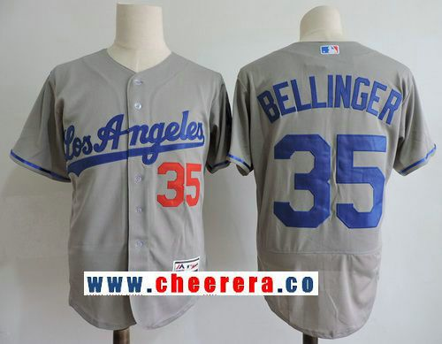4e058fd0b5a ... mens los angeles dodgers 35 cody bellinger gray road stitched mlb  majestic flex . ...