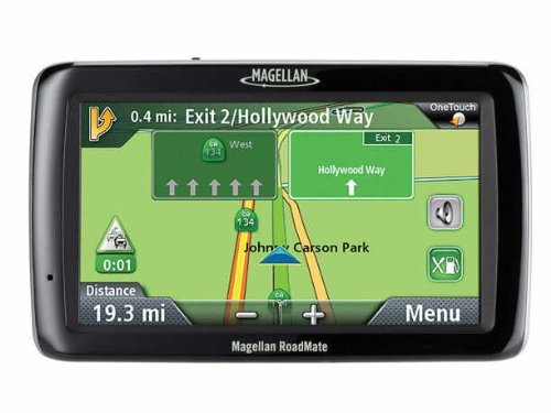 Magellan RoadMate 5045-LM 5-Inch :    Features:        System Requirements: only compatible with Windows      GPS for larger vehicles including SUVs, RVs and trucks; features large five-inch touchscreen      Features include lifetime map updates, lifetime traffic alerts, highway lane assist, OneTouch favorites, highway exit POI and AAA TourBook      Pre-loaded maps of U.S., Canada and Puerto Rico with six million searchable points of interest    Visit :  http://www.mappdash.com