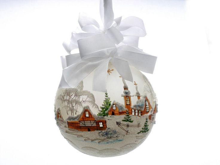 Czech Glass Christmas Ornaments