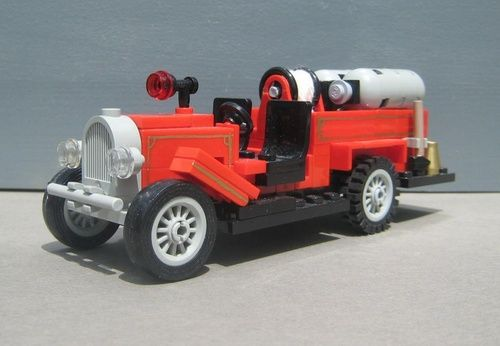 1923 Ford Model T : A LEGO® creation by Lego Fire Museum Inc. : MOCpages.com