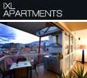 Off to celebrate Adam's 30th at IXL Apartments, Hobart in May