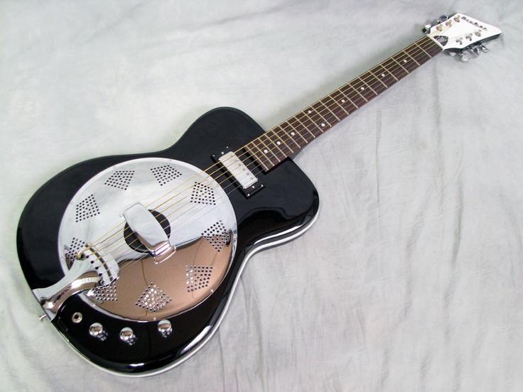 Eastwood Airline Folkstar Electric Resonator Guitar