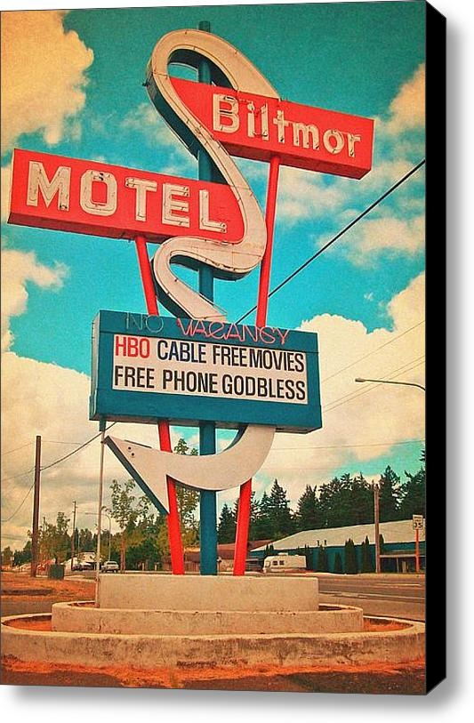 The Biltmor--- make sure you make your reservations at the right one, lol: Vintage Googie Signs, Society6 Products, Canvas Prints, Vintage Time, Neon Signs, Art Prints, Vintage Signs, Biltmore Hotels, Vorona Photography