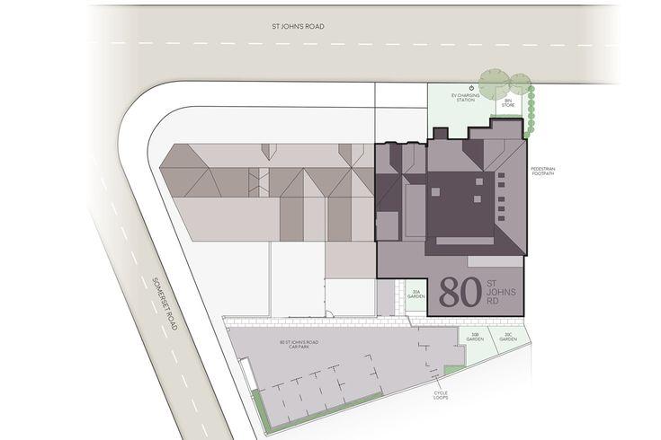 80 St. John's Road, Tunbridge Wells Sitemap