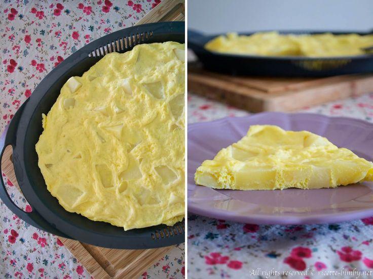 La frittata di patate è un secondo piatto tipico e può essere servito anche come piatto unico, è saporita e semplice da preparare con il bimby.