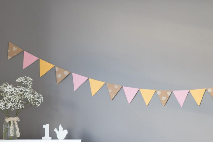 Decorating ideas for daughter's first birthday.