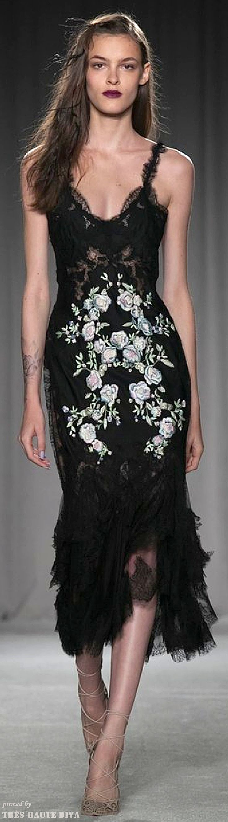 """Marchesa Spring 2014 RTW  ( Sexy """"Cocktail"""" Dresses )"""
