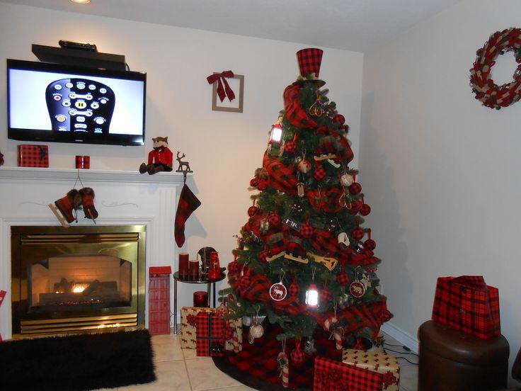 Buffalo Plaid Christmas Tree Buffalo Plaid Buffalo Check Lumberjack