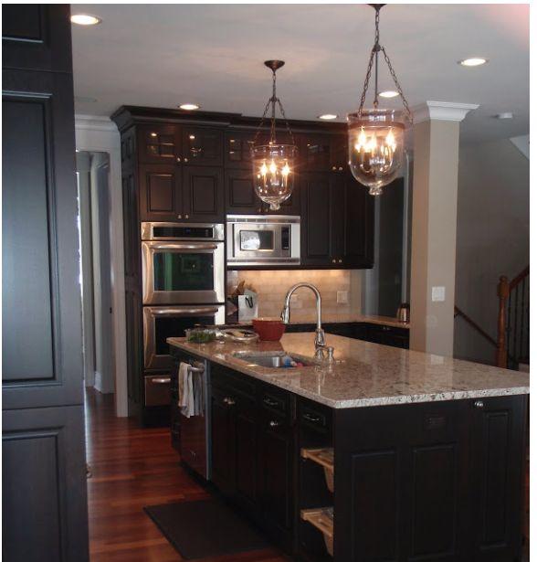 Dark Kitchen Floors Light Cabinets: 32 Best Dark Cabinets W/light Or Dark Floor? Images On
