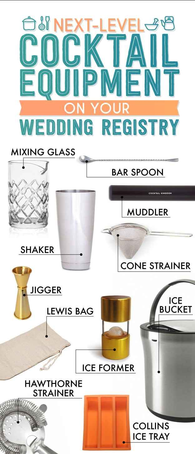 201 best images about kitchen vocabulary on pinterest for Things to put on a wedding registry