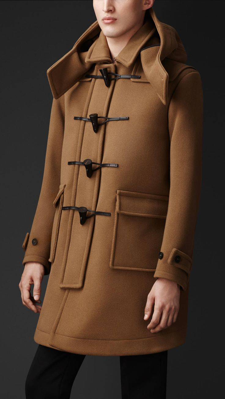 Wool Cavalry Twill Duffle Coat | Burberry