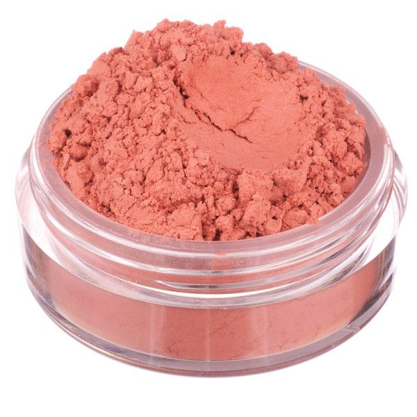 BOMBAY blush  Intense coral with red undertones. Vivid and captivating as a sunset, the perfect colour for adding a touch of warmth to your cheeks and lips. Perfectly matte finish.   #nevecosmetics #blush #vegan #mineral #coral #red #cosmetics #crueltyfreemakeup #makeup