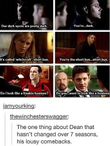 Oh, Dean.