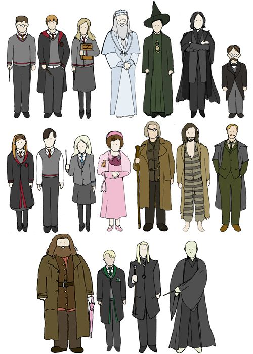 if you can name all of these without fail,you are a true potterhead