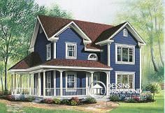Plan de maison no. W2741 de DessinsDrummond.com