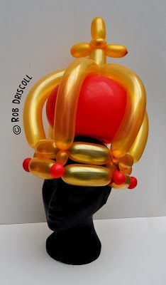 My Daily Balloon: 26th July - Crown