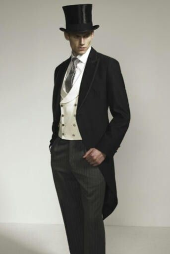 Groom and groomsmens attire.