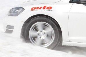 Gomme invernali il test di Auto nel Centro Prove sulle Alpi Svizzere