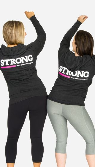 STRONG hoodie (xs-xxl)