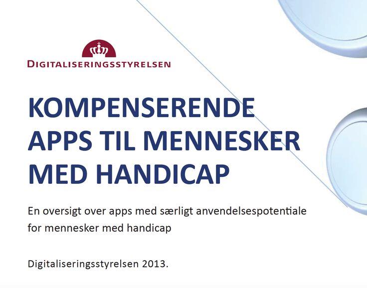En oversigt over apps med særligt anvendelsespotentiale for mennesker med handicap