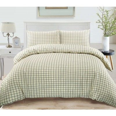Jaipur Check Duvet Cover Set