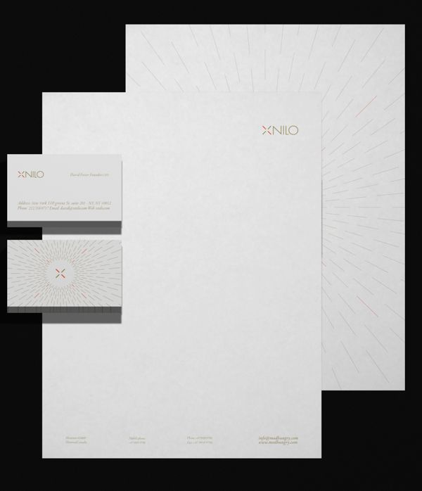 Best Branding Letterhead Business Cards Images On