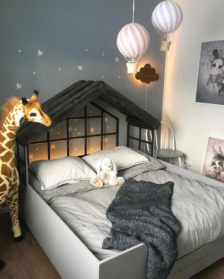 Ein wunderschönes Kinderzimmer mit Beleuchtungsideen! #inspirationen #awesome #inspirationdesign