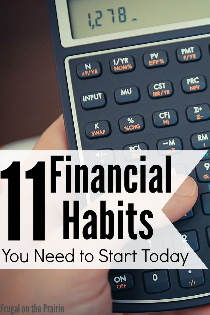 Are you successfully managing your money? Having a budget and paying down debt are just some of the healthy financial habits you should have!