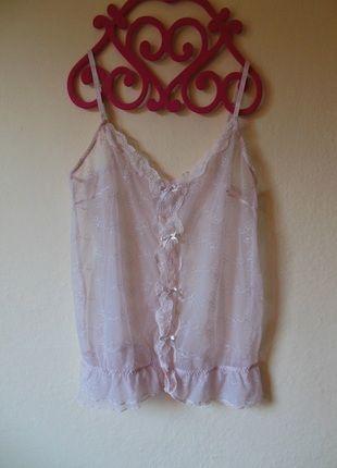 Kup mój przedmiot na #vintedpl http://www.vinted.pl/damska-odziez/bielizna-inne/11239507-rozowa-sexy-koszulka-38-koronki-falbanki-mgielka