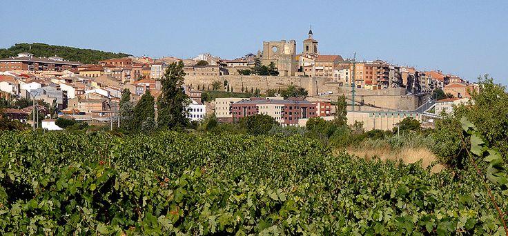 Panorámica de Viana, Navarra
