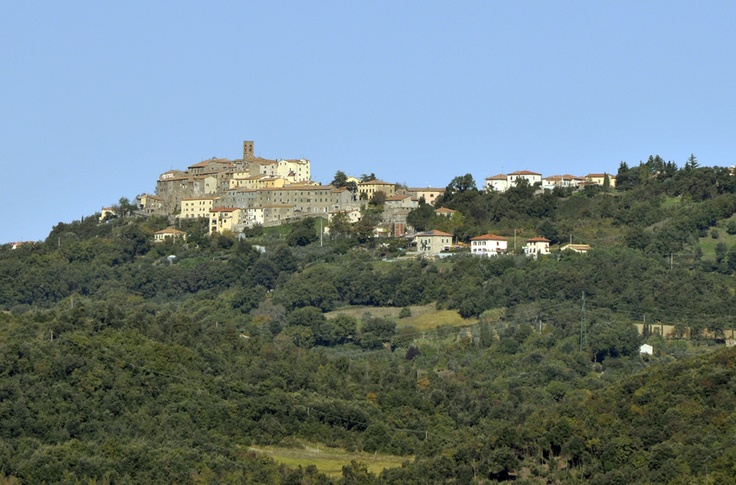 View of Serrazzano - Tuscany #volterratur